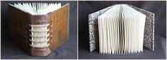 Handmade books by Gatis Cirulis + Katya Reka of STUDIO OSTA , via Behance