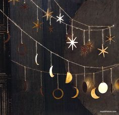 Roost Phases of the Moon Garland – Modish Store