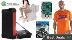Saturday's Best Deals: Sports Apparel, Raspberry Pi, Squatty Potty, and More: It's too late to get most non-digital items in time for…