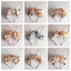 """489 Likes, 63 Comments - Carissa Jones (@jl_designs) on Instagram: """"Drop 2 of the floral bunny ears is going to happen in 15 minutes over on my @jldesigns_sale feed -…"""""""