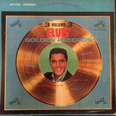 Elvis Presley Golden Records Volume 3 1963 Vinyl LP Record Album