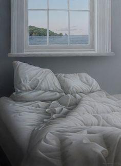 Parnell Gallery artist Neil Driver Bed Under Window Painting Art NZ… New Zealand Art, Nz Art, Kiwiana, Still Life, Art Projects, Art Drawings, Sleep, Artists, Painting Art