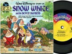 Disney books with records