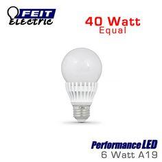 FEIT PerformanceLED 7.5 Watt A19 Omni-Directional 40 Watt Replacement