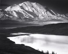 Mount McKinley and Wonder Lake, Denali National Park, Alaska
