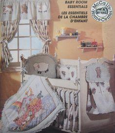 McCalls 7868 Baby Room Essentials Nursery Sewing Pattern Uncut