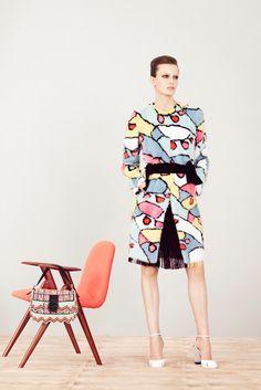 Fendi Resort 2013 Fashion Show - Erjona Ala