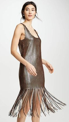 23 Fashion-Forward Gifts Your Most Stylish Friend Is Sure to Love Event Dresses, Nice Dresses, Party Dresses, Fringe Dress, Silk Skirt, Chic Dress, China Fashion, Cute Fashion, Fashion Ideas