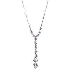 Cool Heather Marquis Delicate Y Cluster Necklace | Alexis Bittar