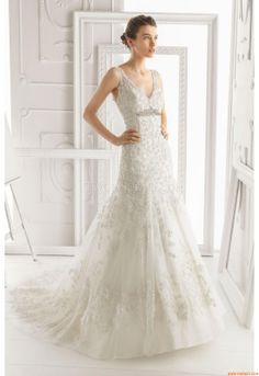 Vestidos de noiva Aire Barcelona 135 Olivia 2014