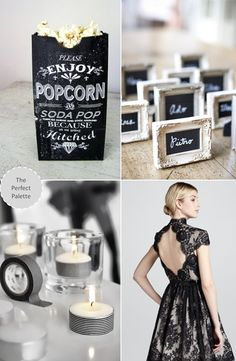 Black and White Wedding Ideas - The Perfect Palette: Now Trending: Black + White Done Right