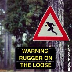 WARNING!! #rugby #rugger