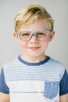 Boys Eyeglass Frames // Jonas Frame // Limited Edition // Grey // www.jonaspauleyew...