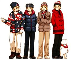 The FACE family at the 2014 Sochi Winter Olympics - Art by まきば