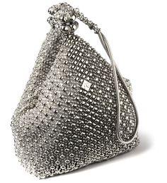 New Sergio Gutierrez Liquid Metal by SG Silver Mesh Evenning Handbag Purse Look Fashion, Fashion Bags, Couture Fashion, Purses And Handbags, Leather Handbags, Couture Handbags, Silver Purses, Silver Bags, Liquid Metal