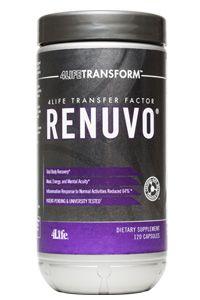 4Life Transfer Factor Renuvo® Forma parte del paquete de 5 productos como soporte al sistema hormonal masculino. Click en la imagen para mayor información.