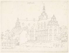 Cornelis Pronk | Het kasteel Wolfswaard, Cornelis Pronk, 1701 - 1759 |