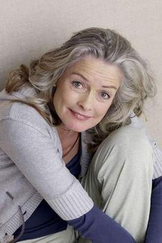 67-year-old German model, Friederike