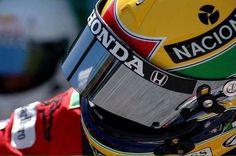 The Yellow Helmet is still racing.not so fast as when it was on Ayrton's head. by massimo cola - Photo 129320111 / San Marino Grand Prix, Helmet Visor, Racing Helmets, F1 Drivers, Mountain Dew, Formula One, Motogp, Race Cars, Brain Storm