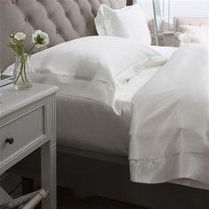 Pure Silk Oxford Pillowcase, Ivory