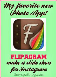 The V Spot: My new favorite app: Flipagram