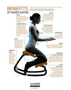 Benefits of a Varier Kneeling Chair Posture Fix, Bad Posture, Home Decor Furniture, Cool Furniture, Furniture Design, Metal Bistro Chairs, Cool Office Desk, Ergonomic Kneeling Chair, Balcony Table And Chairs