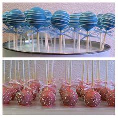 Baby's First Birthday Cake Pops #wiltoncontest