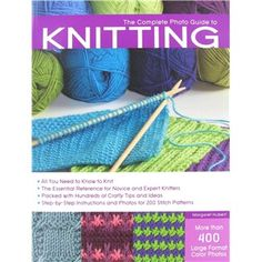 The Complete Photo Guide to Knitting Book   Shop Hobby Lobby