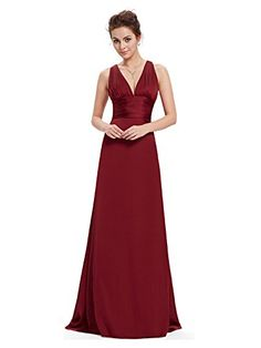 My Wonderful World Women's V-Neck Long Prom Dresses Small Wine Red My Wonderful World Dresses http://www.amazon.com/dp/B014STM858/ref=cm_sw_r_pi_dp_Ev66vb1M66HF0