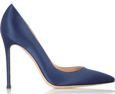 Gianvito Rossi Silk Pumps