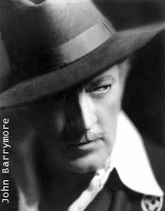 John Barrymore, character actor of the renown Barrymore family. Old Hollywood Stars, Hooray For Hollywood, Hollywood Icons, Hollywood Actor, Golden Age Of Hollywood, Vintage Hollywood, Classic Hollywood, Hollywood Style, Barrymore Family