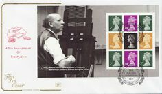 stanley gibbons london | GB Stamps 2007-06-05 The Machin Definitives PSB Old Brompton FDC ...