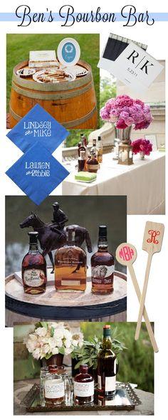 Bourbon Bar Roundup   Kentucky Derby inspiration   LFF Designs   www.facebook.com/LFFdesigns