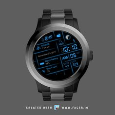 G7 Digital Multi Canework The visual functionality of the watch face works for both round and square formats. Available feature moon phase indicator, moon age days, weather icon, current condition / humidity percentage, sunrise / sunset , watch battery level percentage, day in year, week in year & step count.