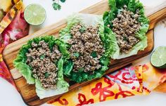 Our vegan version of larb substitutes crumbled tofu and mushrooms for the meat.