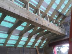 additional support on rafters, Croydon