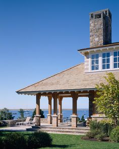 CURB APPEAL – another great example of beautiful design. Champlain's Bluff home, MA. Polhemus Savery DaSilva.