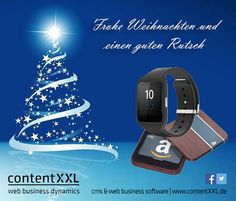 Adventskalender Tag 16: SONY Smart Watch 3 SWR50 für Android sponsored by contentXXL