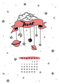 bullet journal: JUNE cover sheet - Kara Scott - #Bullet #cover #journal #June #Kara #Scott #sheet