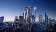 Gallery of Foster + Partners Shares New Images of London's Tulip Tower - 17