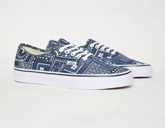 #Vans Authentic Van Doren Paisley #sneakers