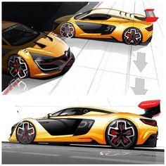 Car Design Sketch, Car Sketch, Layout Design, Alpine Renault, Honda Element, Transportation Design, Automotive Design, Concept Cars, Cars And Motorcycles