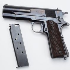 OBREGON PISTOL: A few years after Pancho Villa took Zacatecas from Presidente Huerta in 1914, the Mexican military decided to try a different spin on the widely popular 1911 pistol with the handgun design developed by Alejandro Obregon. While sharing nearly the same profile and caliber, the Obregon pistol combines the thumb safety and slide lock into one unit.