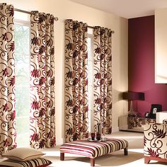 Curtain Decorations For Living Room