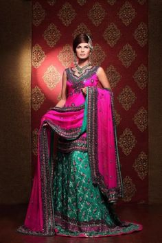 Ahmed Bilal Bridal Dresses Collection 2012 | Latest Fashion Trends
