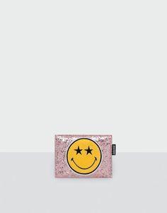 Tarjetero fantasía plateado - Carteras - Accesorios - Mujer - PULL&BEAR España