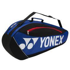Yonex 5723EX Club 3 Racket Bag (Blue) 2017 - Tennis - Racket Bags - Stringers World