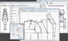 Cutter.  Free pattern drafting CAD program - Download