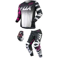 Dirt Bike Fox Racing 2015 Girl's Peewee 180 Combo | MotoSport