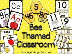 Classroom Organisation, Classroom Displays, Classroom Themes, Classroom Management, Library Organization, Classroom Helpers, Preschool Classroom, Abc Phonics, Bee Theme